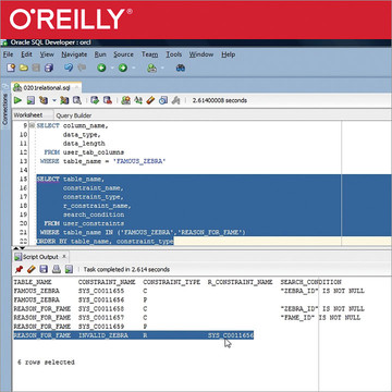 Oracle SQL and JSON
