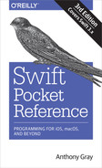 Cover of Swift Pocket Reference, 3rd Edition