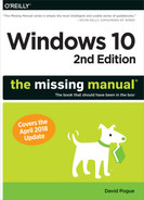 Cover of Windows 10: The Missing Manual, 2nd Edition