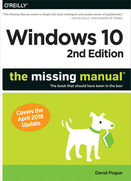 Windows 10: The Missing Manual, 2nd Edition [Book]