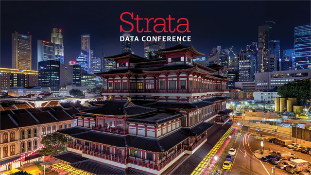 Strata Data Conference in Singapore Video Compilation