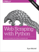Cover of Web Scraping with Python, 2nd Edition