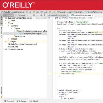 Basic Kudu Installation, API Usage, and SQL Integration