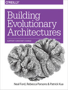 Cover of Building Evolutionary Architectures