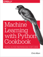 Cover of Machine Learning with Python Cookbook