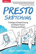 Cover of Presto Sketching