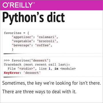 How do I handle missing dictionary keys in Python?