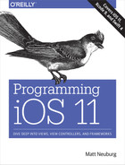 Cover of Programming iOS 11