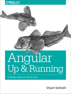 Cover of Angular: Up and Running