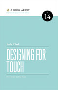 Cover of Designing for Touch