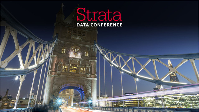 Strata Data Conference in London 2018 Video Compilation
