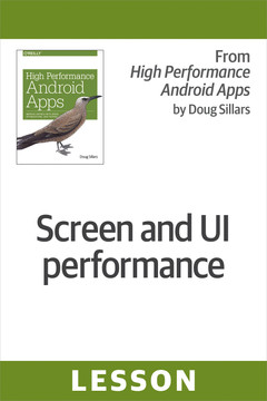 Screen and UI performance
