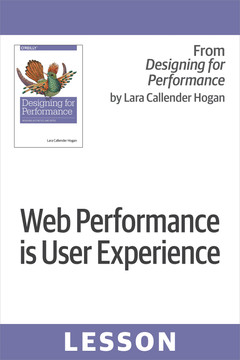 Web performance is user experience
