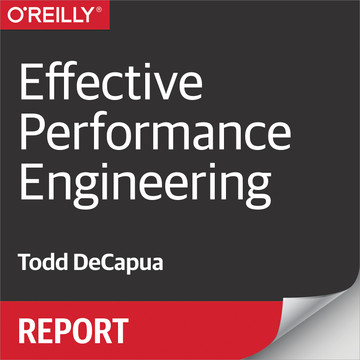 Effective Performance Engineering