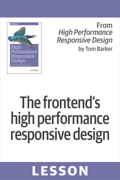 The frontend's high performance responsive design