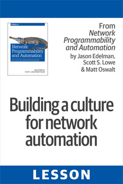 Building a culture for network automation