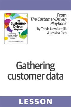 Gathering customer data