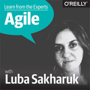 Cover of Learn from the Experts about Agile: Luba Sakharuk