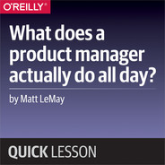 Cover of What does a product manager actually do all day?