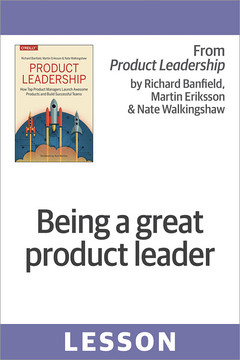Being a great product leader