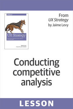 Conducting competitive analysis