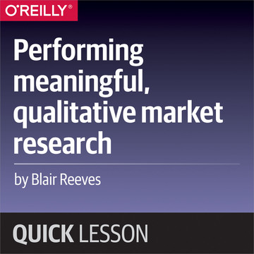 Performing meaningful, qualitative market research