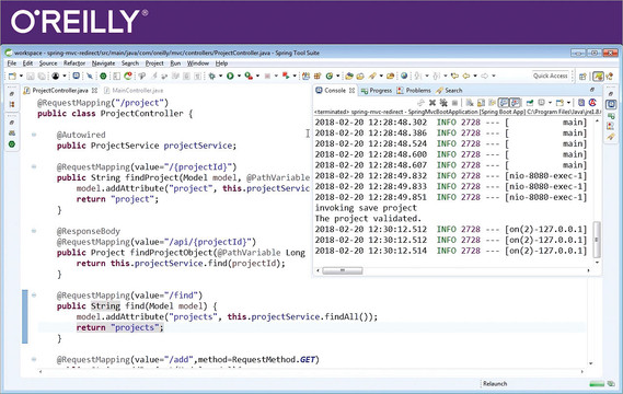 Spring MVC for Java Developers