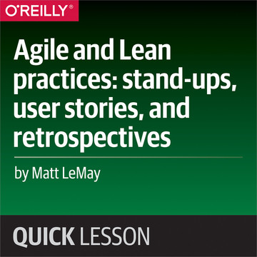 Agile and Lean practices: stand-ups, user stories, and retrospectives