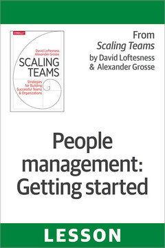 People management: Getting started