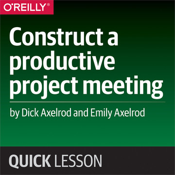 Construct a productive project meeting