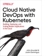 Cover of Cloud Native DevOps with Kubernetes