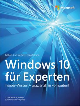 Windows 10 für Experten, 2nd Edition
