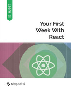 Cover of Your First Week With React