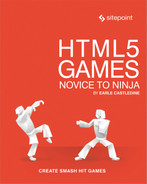 Cover of HTML5 Games: Novice to Ninja