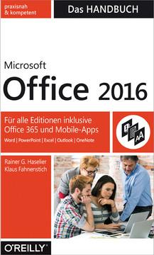 Microsoft Office 2016 – Das Handbuch