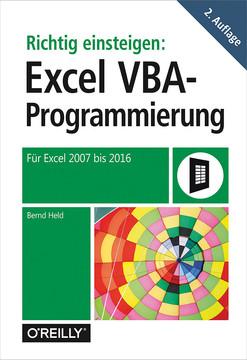 Richtig einsteigen: Excel VBA-Programmierung, 2nd Edition