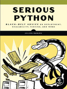 Cover of Serious Python