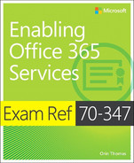 Cover of Exam Ref 70-347 Enabling Office 365 Services