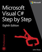 Cover of Microsoft Visual C# Step by Step, 8th Edition