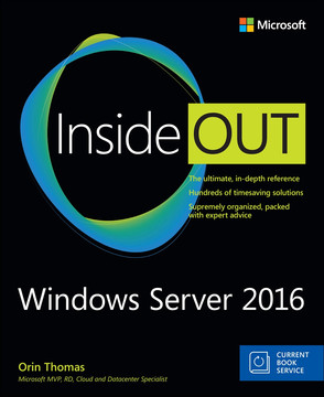 Windows Server 2016 Inside Out, First Edition