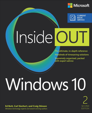 Windows 10 Inside Out (includes Current Book Service), 2/e