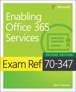 Cover of Exam Ref 70-347 Enabling Office 365 Services, Second Edition
