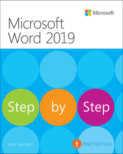 Microsoft Word 2019 Step by Step, First Edition