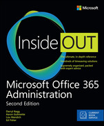 Cover of Microsoft Office 365 Administration Inside Out (Includes Current Book Service), Second Edition