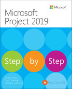 Microsoft Project 2019 Step by Step, Fifth Edition