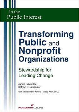 Transforming Public and Nonprofit Organizations