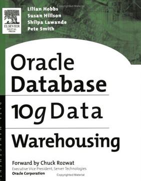 Oracle 10g Data Warehousing [Book]