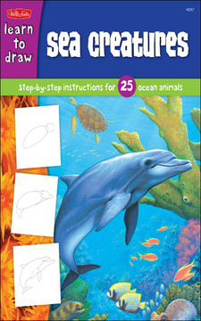 Learn to draw: Sea Creatures