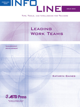 Leading Work Teams