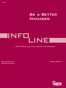 Be A Better Manager